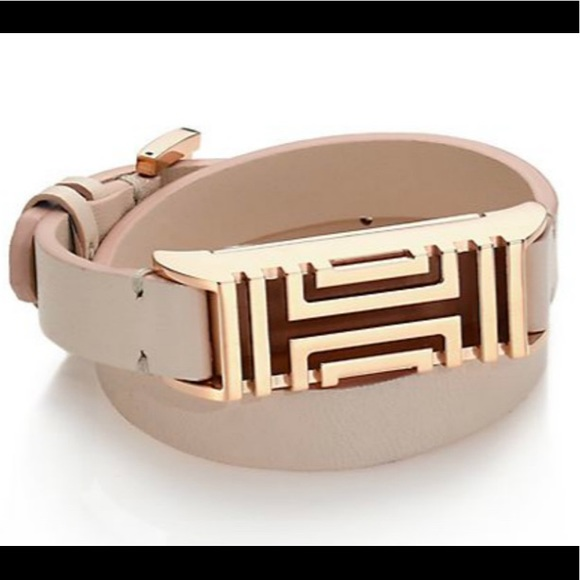 7fbc3703af5a Tory Burch Fitbit-Case Double Wrap Bracelet NWOT. M 5add5b2946aa7ccb0fd777c5
